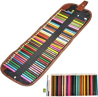 Fdit Colored Pencil 48 Color Assorted Professional Art Pencils Colouring Pencil Watercolor Paint Woo