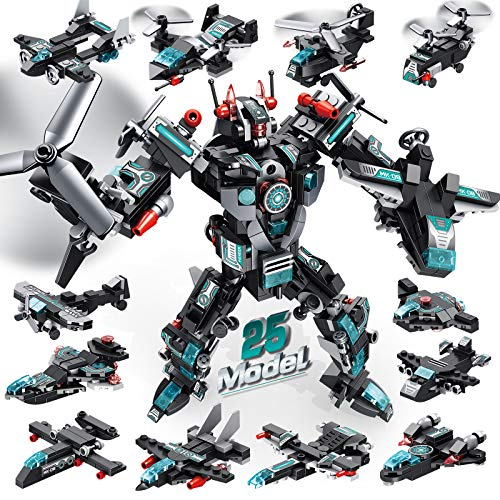 LUKAT Robot Building Toys for Boys Age 6 7 8 9 10+ Year Old, 577 PCS...