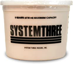 System Three 3110S47 Brown Wood Flour, 5 Quart Tub