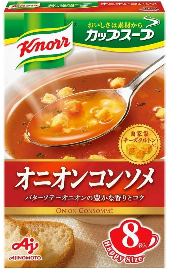 Ajinomoto Knorr Cup Soup onion consomme 8 bags input ~ Outlet ☆ Free Shipping Max 53% OFF 6 92g pie