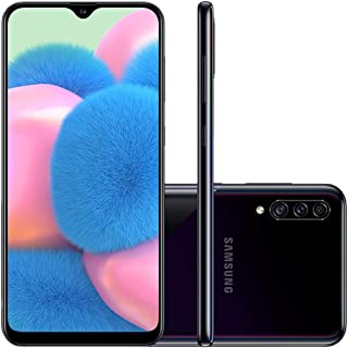 Celular Samsung Galaxy A30s Preto 64gb Câmera Tripla 25mp + 8mp + 5mp
