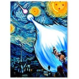 Canvas Pictures for Living Room Wall Mural Dragon Ball Z Starry Night Boy Girl Room Posters Home Decor Wall Art 08x12inch