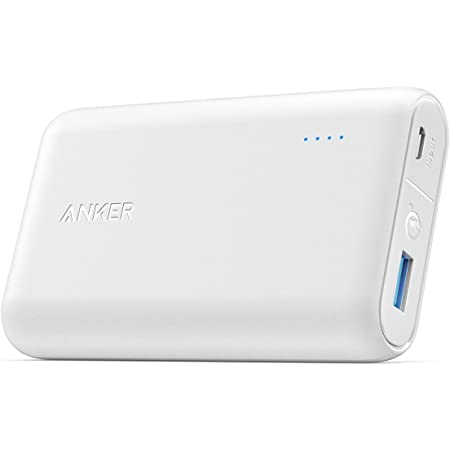 Anker PowerCore Speed 10000 QC (10000mAh 大容量 モバイルバッテリー)【PSE認証済 / Quick Charge 3.0対応 / PowerIQ搭載】 iPhone / iPad / Android各種対応 (ホワイト)