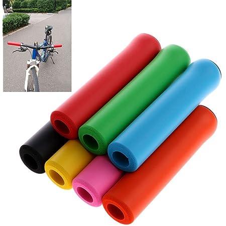 Mountain Bike Foam Silicone Sponge Handle Bar Grips Handlebar Bicycle Bike Cover