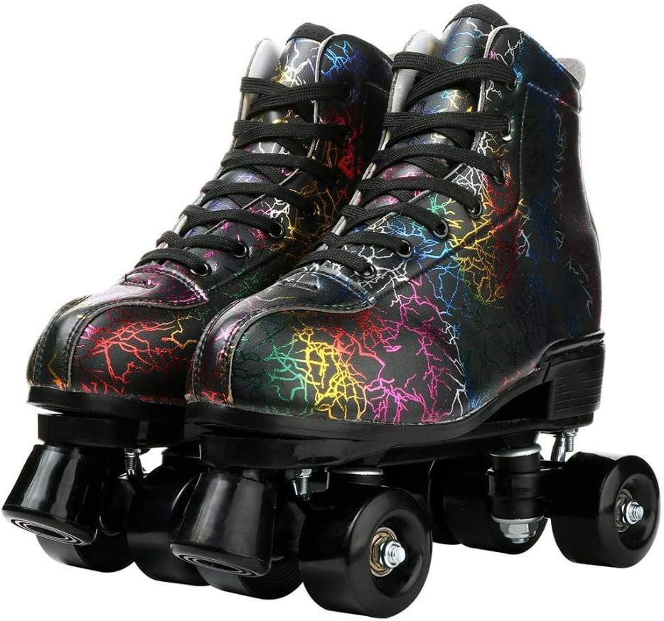 All items free shipping MilkyWay Unisex Roller Skates Double Row Four Wheels High-top Challenge the lowest price of Japan Ro