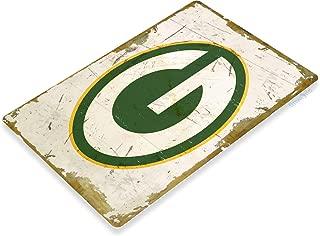 Tinworld Tin Sign Green Bay Packers Rustic Retro Football Sports Metal Sign Decor Garage Bar Cave A920