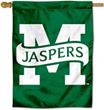 College Flags and Banners Co. Manhattan Jaspers Double Sided House Flag