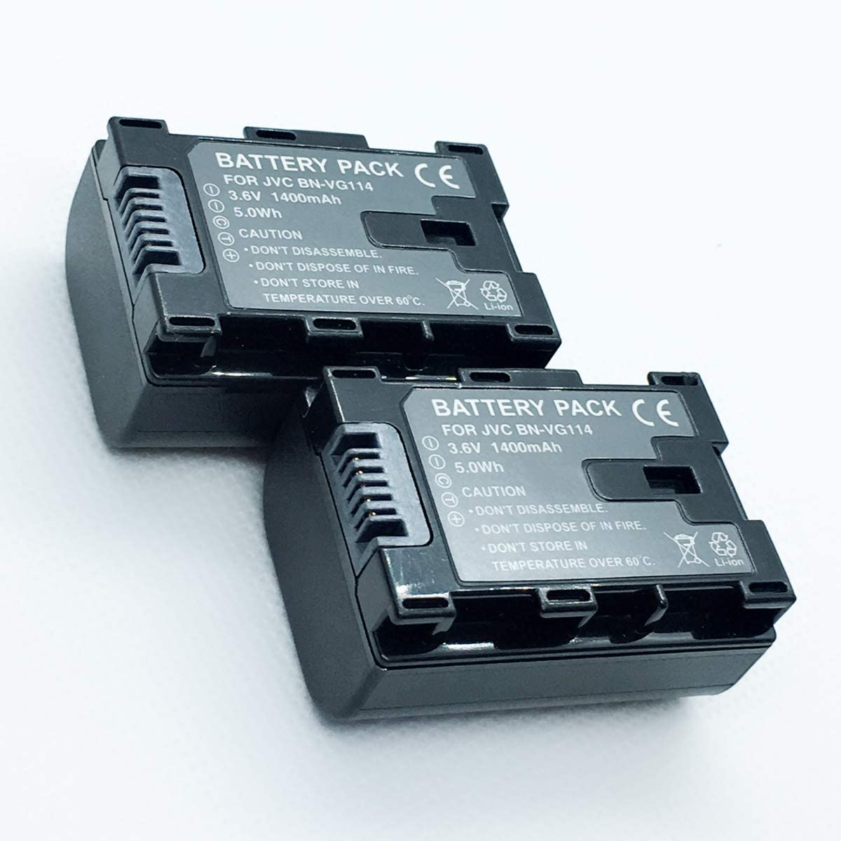 Rechargeable In a popularity 2 Battery Pack for GZ-E10SEU GZ-E10SE Everio Free shipping New JVC