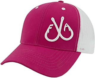 Snap Back Fishing Trucker Hats with 3D Hooks for Men & Women