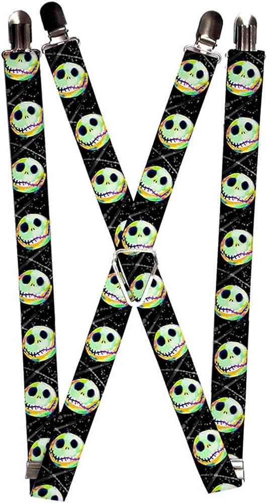 Buckle-Down Suspenders-Nightmare Before Christmas Jack Expression10 El