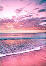 Diamond Painting Kit for Adult DIY Full Drill Diamond Painting Sets, Paint by Numbers for Adults,Beach Scenery,11.81x15.74...