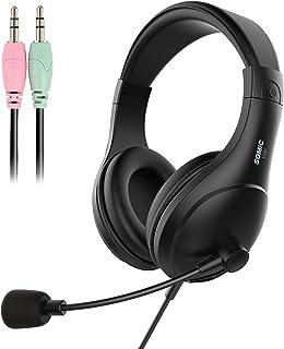 Fone de ouvido SOMIC MM185 dobrável sobre a orelha para DJ, fones de ouvido com cancelamento de ruído graves Hi-Fi leve e ...