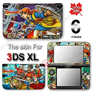 Dragon Quest VIII Journey of the Cursed King Skin Vinyl Sticker Cover for Original Nintendo 3DS XL