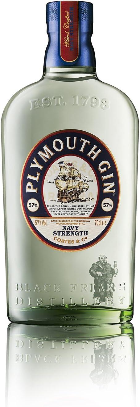 Plymouth Gin Navy Strength Ginebra - 700 ml