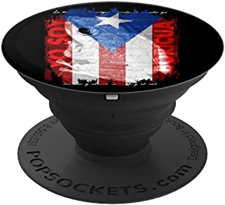 Coqui Shirt, Yo Soy Boricua Puerto Rico Flag Shirt Cool Gift PopSockets Grip and Stand for Phones and Tablets