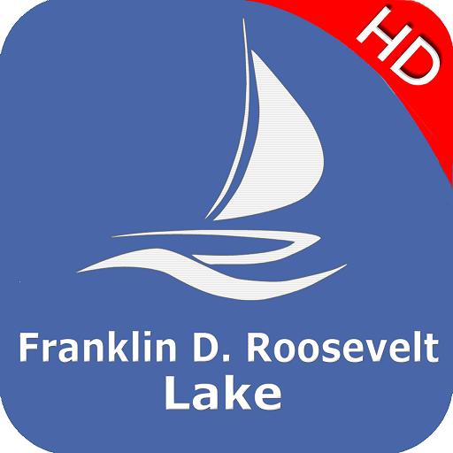 Franklin D. Roosevelt Lake - WA Offline GPS Charts