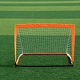 WANGXL But De Football, Filet De But De Football pour Enfants, Filet De Tir De Football, Buts De Football Portables IntéRieurs Et ExtéRieurs