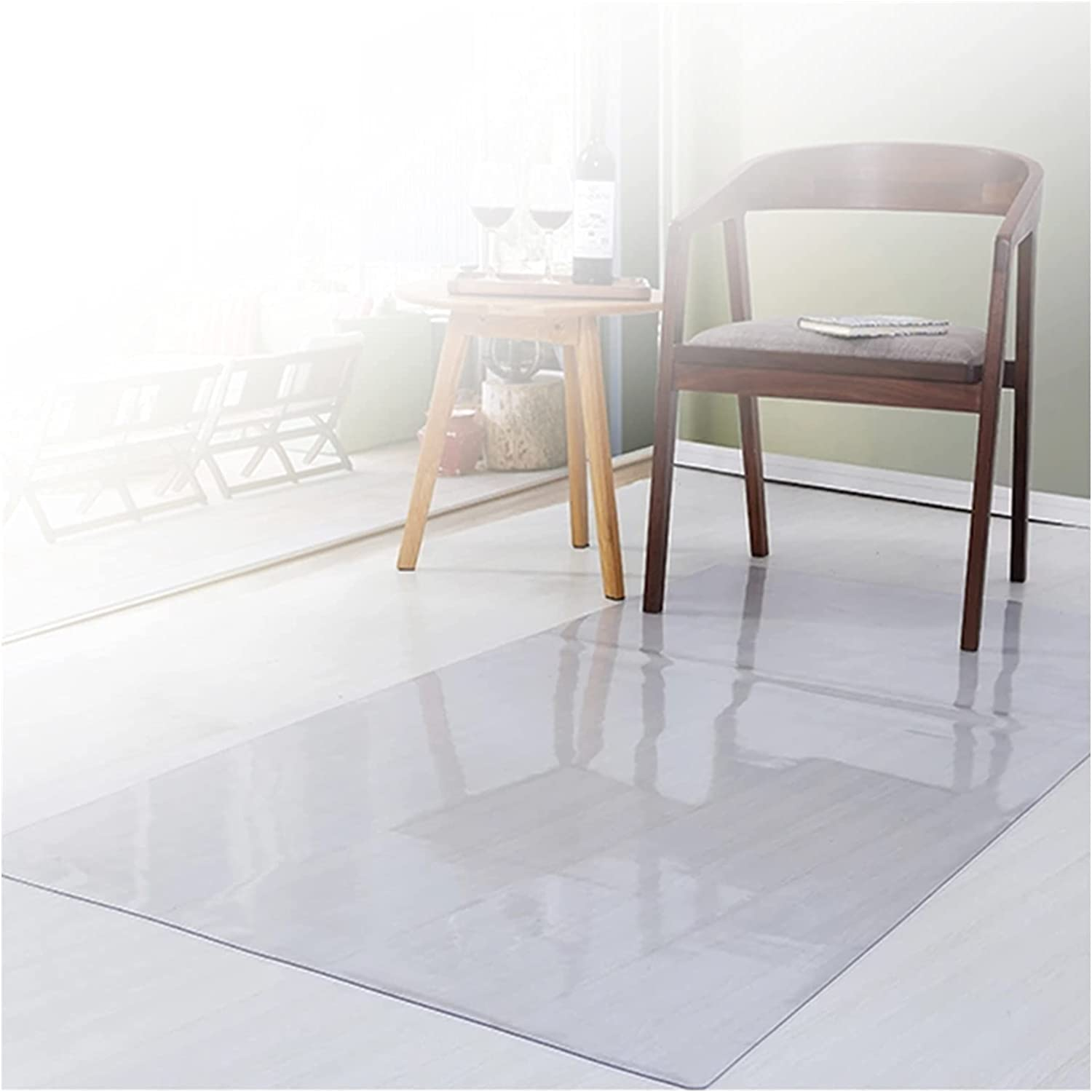 ZWYSL Customizable Clear Chair Mat Floor Carpet Free shipping anywhere in Max 86% OFF the nation Sou Protection