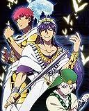 Labyrinth Magic Magi Poster Promo Anime Sinbad K Big No Morgiana Japan Prince Alibaba Uta 16x20 Inches