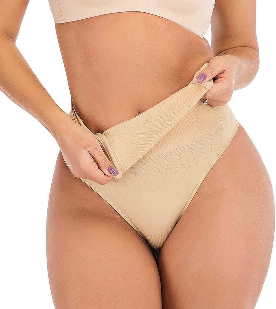 FUTATA Tummy Control Shapewear Butt Lifter Shaper Sexy Thong Body Shaper Hip Enhancer Panties for Womens