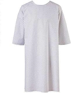 EXNER Patientenhemd Krankenhemd Pflegehemd Nachthemd Patientenhemd Einheitsgröße