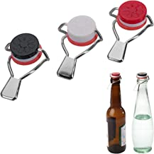 Westmark 3 Flaschen-Hebelverschlüsse, Mit Silikondichtung,