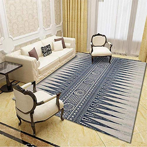 waterdicht tapijt voor buitenshuis woonkamer tapijt grijs geometrisch streeppatroon zacht tapijt waterwas Grijs buitentapijt tuin 50X80CM kinderen tapijten voor slaapkamers 1ft 7.7X2ft 7.5