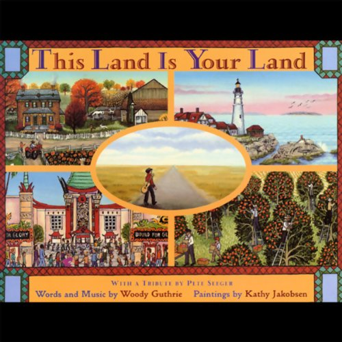 This Land Is Your Land  audiobook cover art