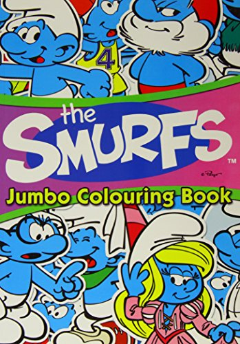 Alligator Books The Smurfs Jumbo Co…