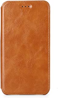 KFGBR ケース Case for vivo V11 PRO Flip Case Cover Leather ケース + TPUシリコン固定カバー用ケース KFGBR - brown