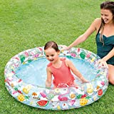 Zoom IMG-1 intex piscine gonflable piscina multicolore