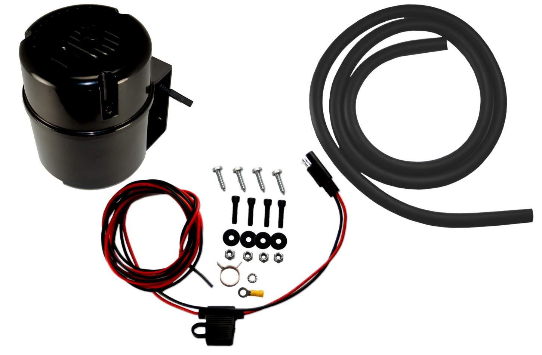 Leed Brakes Electric Vacuum Pump Kit - Black Bandit Series (VP001B)