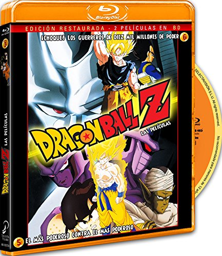 Pack Dragon Ball Z. Película 5: El Más Poderoso Contra El Más Poderoso. Película 6:+ ¡Choque! Los Guerrero De 10.000 Millones De Poder. Blu-Ray [Blu-ray]