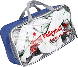 Simlug Durable Great Strength PE Volleyball Net, Competition Volleyball Net, for Indoor Travel Backyard Playing Outdoor