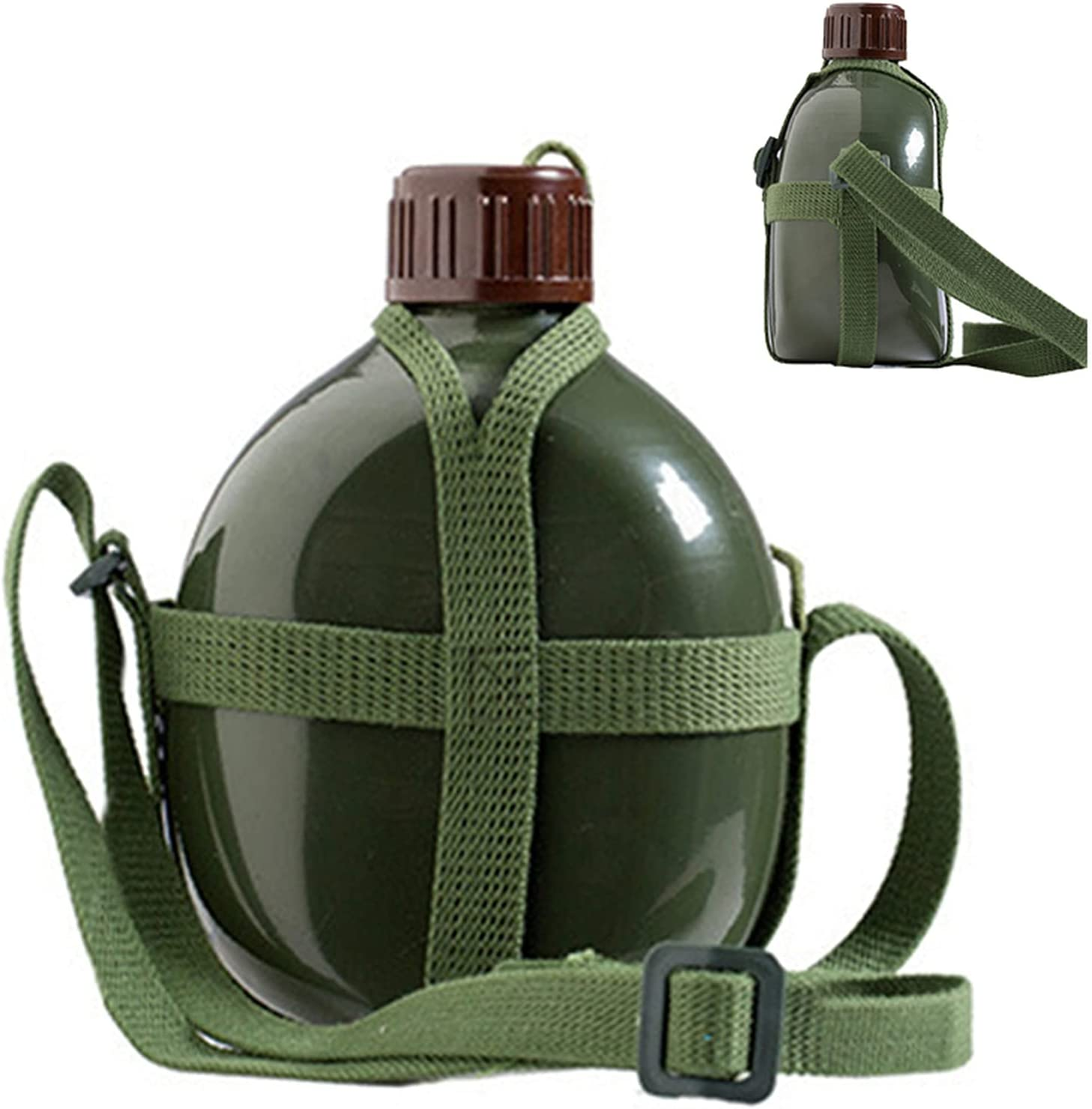 Philadelphia Mall WYGOAKG Military Army Flask Wine Online limited product Water S Cup with Bottle Cooking