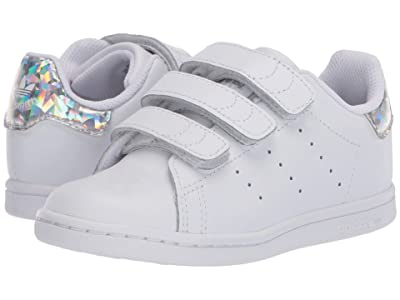 adidas Originals Kids Stan Smith CF (Toddler) (White/Black) Kids Shoes