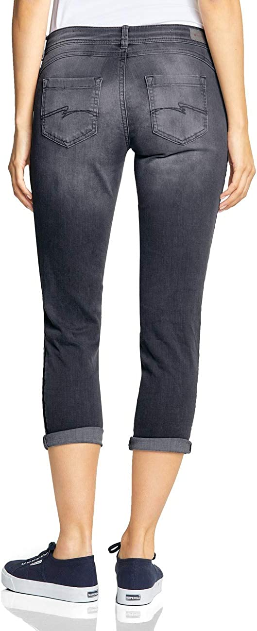 Street One Jeans Femme Authentic Grey Random Bleach 11690
