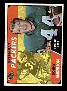 1968 Topps Football #209 Donny Anderson RC STARX 7 NM CS25411