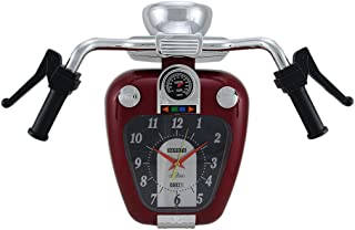 Zeckos Super Cruiser Motorcycle Wall Clock W/Sound