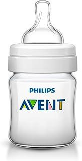 Philips Avent Classic Plus Newborn Flow Baby Bottle, 125Ml, SCF560/61 White