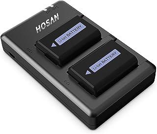 HOSAN NP-FW50 純正互換 バッテリー 2個 + USB充電器 対応機種 Sony NP-FW50 Alpha a3000 Alpha a5000 Alpha a6000 a6300 a6500 Alpha 7 a7 Alpha 7R a7R Alpha 7S a7S NEX-3 NEX-3N NEX-5 NEX-5N NEX-5R NEX-5T NEX-6 NEX-7 NEX-C3 NEX-F3 SLT-A33 SLT-A35 SLT-A37 SLT-A55V Cyber-shot DSC-RX10 DSC-RX10M3 DSC-RX10M2