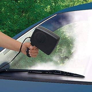DEALPEAK Portable Car 2 in 1 Cooler & Heater Fan Vehicle Electronic Air Heater 12V 200W Car Windshield Heater Defogger Dem...