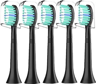 Wymienne główki szczoteczki do zębów kompatybilne z Philips Sonicare: profesjonalne elektryczne główki szczoteczki do Soni...
