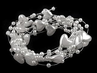 Perlengirlande f z Dekoration mehrf Perlenband Girlande Flair Basteln od