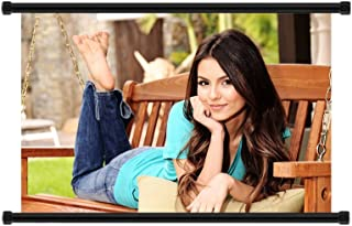 Victoria Justice HOT Pop Star Fabric Wall Scroll Poster (32