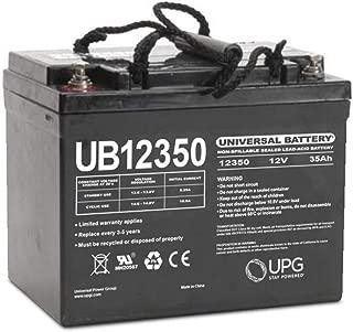 Universal Power Group UB12350 12V 35AH SLA Internal Thread Battery For Invacare Pronto 31
