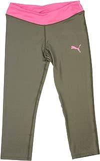 Big Girls Capri Leggings Activewear Workout Gym Crop Pants Black Yoga Pants