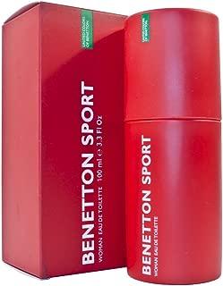Benetton Sport By Benetton For Women. Eau De Toilette Spray 3.3 Ounces