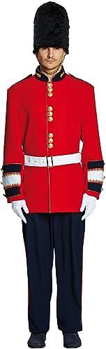 Mottoland GmbH Costume de Garde des Hommes Soldat Bobbie Uniforme de l'Angleterre voiturenaval de déguiseHommest (52)