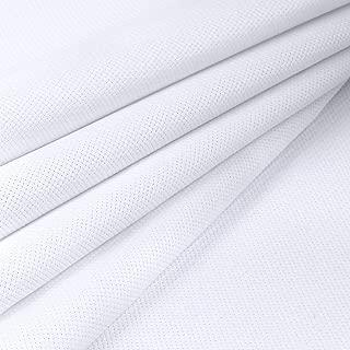 cross stitch fabric sizes